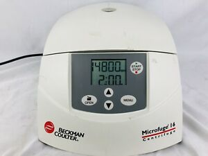 Beckman Coulter Microfuge 16 Centrifuge Free Shipping