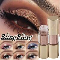 Waterproof Shiny Eyeshadow Glitter Metallic Liquid Eyeliner Makeup Eye-Liner Pen