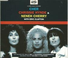 Cher & Chrissie Hynde with Eric Clapton - Love Can Build A Bridge 1995 CD single