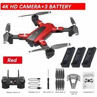 RC Drone Pro FPV Selfi Wireless WiFi Aerial 4K HD Camera Foldable 4CH Quadcopter