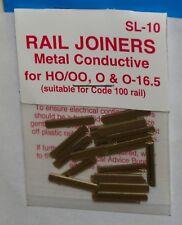 Peco SL-10 Schienenverbinder 24 Stück für Code 100 u 124 H0 1:87