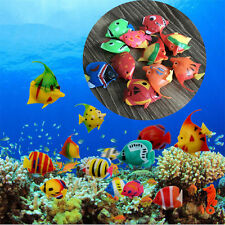 10 PCS Artificial Plastic Small Fake fish for Aquarium Decoration Tank Decor New