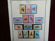 Grenada, Complete Set of 1974 'Independence' Overprint Stamps, Unmounted Mint