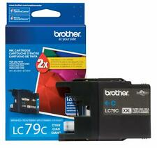 Genuine Brother LC79 XXL Cyan Color Ink Cartridge (LC79C) Single