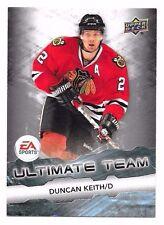 2011-12 Upper Deck EA Ultimate Team Duncan Keith