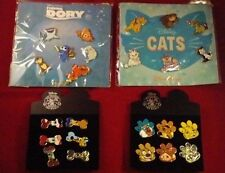 Disney pins ANIMALS 1 has 4 complete sets 24 pins Dory Pluto Figaro Lady Bolt