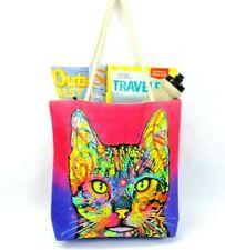 Shiva Cat Tote Bag Purse Kitty Cat Shopping Beach Bag Shoulder Handbag