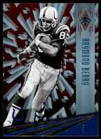 2016 PANINI PHOENIX RED RAYMOND BERRY BALTIMORE COLTS #149 PARALLEL