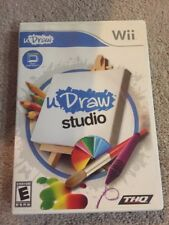 uDraw Studio  (Wii, 2011) Replacement Game Only. No Tablet