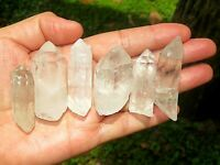 Quartz Crystal Collection 1/2 Lb, 1-2 Inch, Natural Clear Quartz Crystal Points