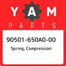 90501-650A0-00 Yamaha Spring, compression 90501650A000, New Genuine OEM Part