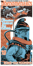 Phenomenauts Poster The Lovemakers Maldroid King Kukelele Firehouse Chuck Sperry