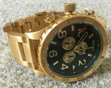 Nixon Men's Gold Black 51-30 Chronograph Watch