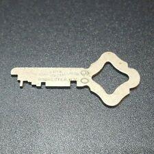 """Antique Sargent & Greenleaf Cabinet Vintage Skeleton Flat Old Key # 20 1 5/8"""""""