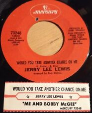 Jerry Lee Lewis 45 Me And Bobby McGee /Would You Take Another Chance On Me  w/ts