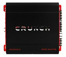 Crunch 4 Channel 1000 Watt Amp A/B Class Car Stereo Amplifier | PX-1000.4
