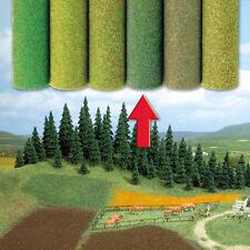 Busch 7233 NEW MIXED GREEN LARGE GRASS MAT 200 X 80 CM