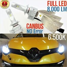 Set Lámparas Luces FULL LED RENAULT CLIO 4 IV H7 6500K CAN-BUS faros