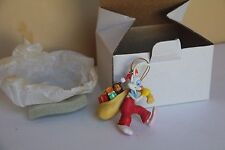 DISNEY ORNAMENT GROLIER ROGER RABBIT SANTA BAG PRESENTS CHRISTMAS HOLIDAY XMAS