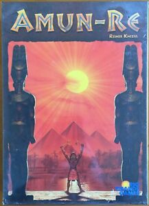 Amun-Re - Rio Grande Games 2003 Reiner Knizia - Blisterato Sealed Shrinkwrapped