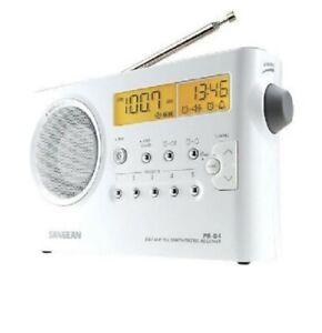 SANGEAN PR-D4P FM / AM Digital Tuning Portable Receiver Radio (£75rrp!!)