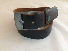 Men's Diesel Black Leather Belt size 30
