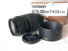Tamron AF 70-300 mm 4-5.6 Di LD Macro 1:2 62 mm Filtergewinde für Canon
