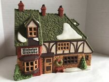 "New ListingDept 56 Dickens Village ""Nicholas Nickleby Cottage"", used, missing box"