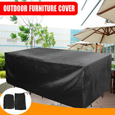 More details for 270cm xxl outdoor garden furniture cover extra large patio anti-uv waterproof uk