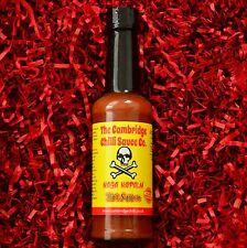 "Cambridge peperoncino ""NAGA Napalm"" - Ultra hot Naga (Ghost Pepper) Salsa di peperoncino!"