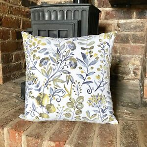 1031. Meadow Buttercup Floral  100% Cotton Cushion Cover Various sizes