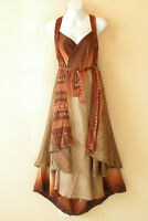 "L977 Vintage Silk Magic 34"" Long Wrap Skirt Halter Tube Maxi Dress + Bonus DVD"
