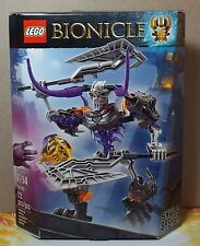 LEGO BIONICLE SKULL BASHER 72 pcs 70793 AGES 7-14 NEW IN BOX 2015 RETIRED VHTF