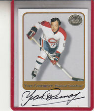 "2001-02 FLEER GREATS OF THE GAME YVAN COURNOYER ""THE ROADRUNNER"" AUTOGRAPH AUTO"