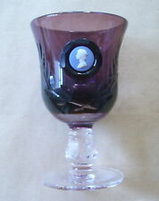 Britain Amethyst Date-Lined Glass