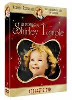 COFFRET FILM 2 DVD NEUF COMEDIE : LES AVENTURES DE SHIRLEY TEMPLE - VO ST FR