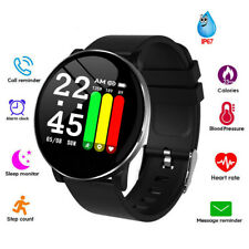 Activity Tracker Smart Watch with Heart Rate Monitor Pedometer for Women Men