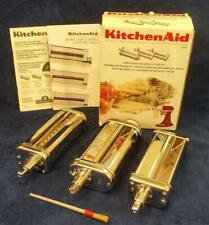 New listing KitchenAid Kpra Pasta Roller Cutter Attachment Set, Made in Italy 3 pcs - Euc