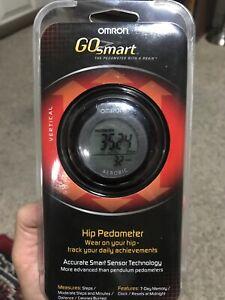 OMRON GO Smart Hip Pedometer (HJ-151) Accurate Smart Sensor Technology