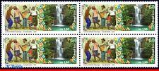3284 BRAZIL 2014 KALUNGA COMMUNITY GO, CULTURE, WATERFALL, FLOWERS, BLOCK MNH