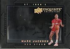 Mark Jackson 11/12 Exquisite Collection Dimensions Autograph