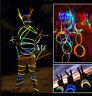 Glow Sticks Bracelets Necklaces Fluorescent Neon Party Wedding Magic 100 PCS New