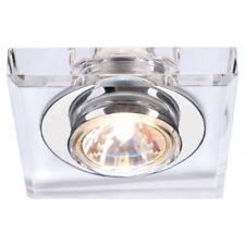 Focos empotrables de iluminación de techo de interior de cristal 1-3 luces