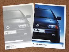 1997 VW POLO SALOON Sales Brochure & Specifications Brochure - 1.6L 1.6CL 1.9SDI
