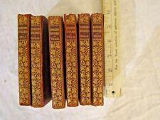 "Antique Collins 6 Vols The BIJOU SHAKESPEARE Miniature Book Set Mini 3"" x  5"""
