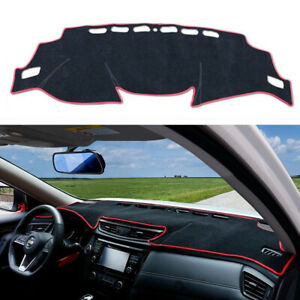 Dashboard DashMat Sun Cover Pad Red For Nissan Rogue 2017 2018 2019 2020