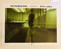 The Promise Ring Boys + Girls Poster Original Promo 22x16 90s PUNK EMO Jade Tree