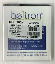NEW ORIGINAL BELTRON BATTERY FOR BLU STUDIO 5.5 D610 D610A 2250 mAh C746440225T