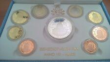 Vaticano Divisionali 2012 con 20 Euro argento Proof - Conf. Celeste