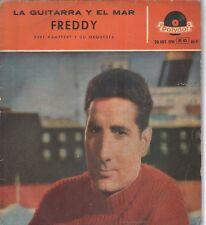 FREDDY QUINN EP Spain 1959 Die gitarre und das meer +3